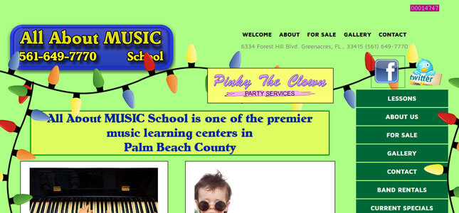 All About MUSIC School