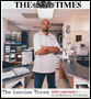 Percy Marchand, Idea Cafe Grant Winner featured in the London Times